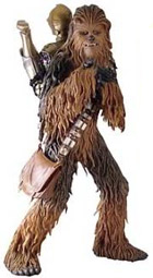 Chewbacca Wields His Mighty Bag