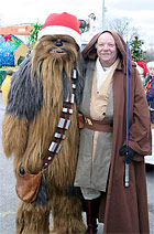 Wookiee, Jedi, and Sash with Pouch