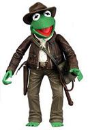 Kermit as Indiana Jones