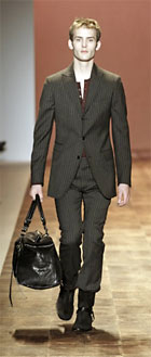 Man purses in the John Varvatos spring collection