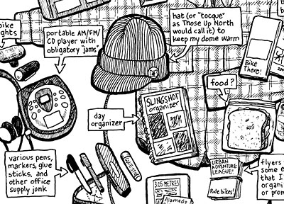 Shawn Granton's Man-Purse Comic Excerpt