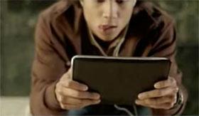 Microsoft Origami Man Purse Video Frame 9