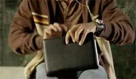 Microsoft Origami Man Purse Video Frame 12