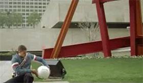 Microsoft Origami Man Purse Video Frame 23