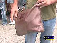 ABC Nightline Man Purse