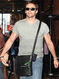 Hugh Jackman and Man Purse