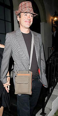 Robert Downey Jr. and Man Purse