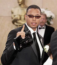Terrence Howard and Man Purse
