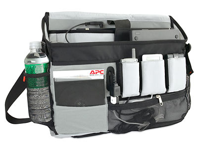 APC Power Ready Business Casual Messenger Bag Interior